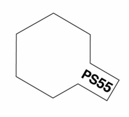 Picture of Tamiya PS-55 Polycarb Spray Paint (Flat Clear)