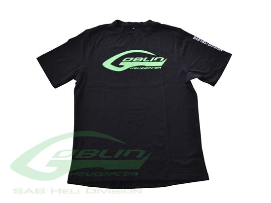 Picture of HM025-S SAB HELI DIVISION New Black T-shirt - Size S