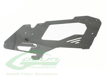 Picture of SAB H0531-S - Carbon Fiber Main Frame - Goblin 380