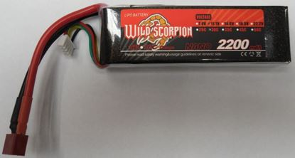 Picture of Wild Scorpion 3S 11.1v 2200mAh 30C XT60 Plug