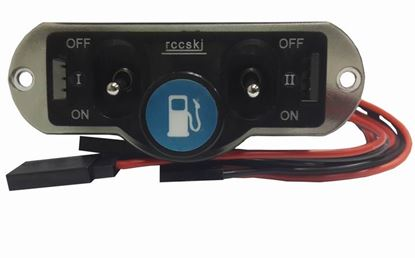 Picture of RCCSKI ST3019 Dual Switch w/Fuel Dot