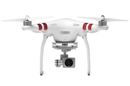 Picture of DJI Phantom 3 Standard with Gimbal-stabilised