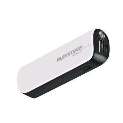 Picture of PROMATE AIDBAR-2 2500mAh USB Power Bank (White)