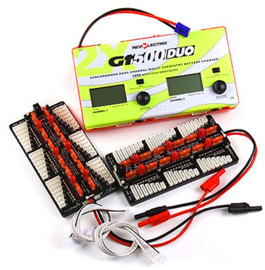 Picture of Revolectrix GT500DUO Dual Channel Charger, 1000w with 2 MPA's