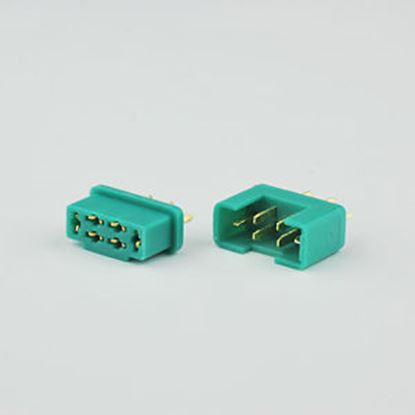 Picture of MPX Connector Male/Female 9638/TPD07