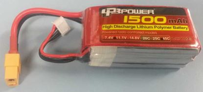 Picture of LPB Power 3S 11.1v 1500mAh 45C (XT60 Plug)