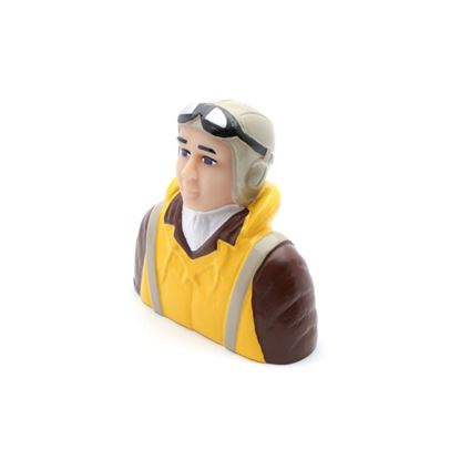 Picture of Hangar 9 HAN9134 1/4 Scale WWII Pilot with Vest, Helmet & Goggle
