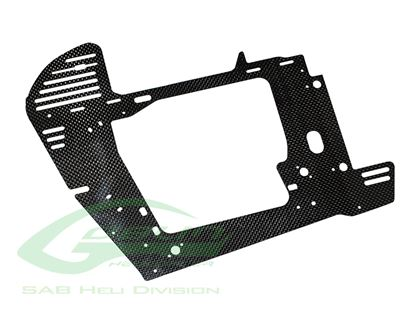 Picture of SAB H0688-S - Carbon Fiber Main Frame - Goblin Black Nitro