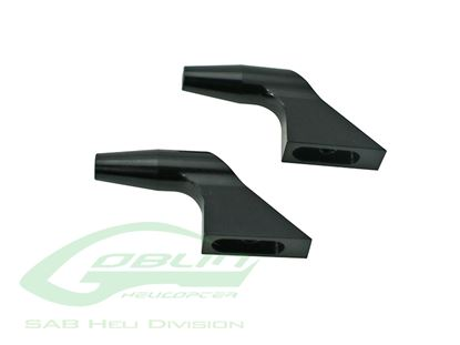 Picture of SAB H0183BL-S Aluminum Main Blade Grip Arm Black Edition 700