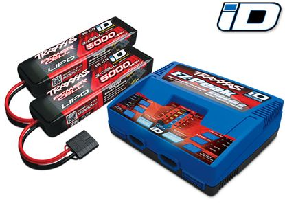 Picture of Traxxas 2990 Dual Charger W/ 2 x 3s 11.1V 5000mAh 25C Lipo Batte