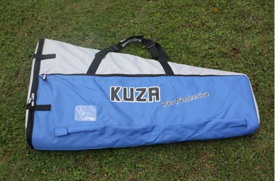 Picture of KUZA KAG0093 brand Wing Bag (26-40cc) Blue