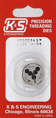 Picture of K&S Engineering 11-417 2-56 Threading Die