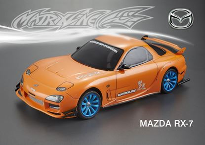 Picture of Matrixline PC-201404E-1 1/10  Mazda RX7 Body Shell