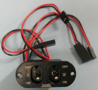 Picture of RCCSKI ST3004 15A High Current Biswitch Plastic Shell