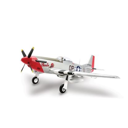 Picture of E-Flite EFL8250 P-51D Mustang 1.2m BNF Basic. w/AS3X