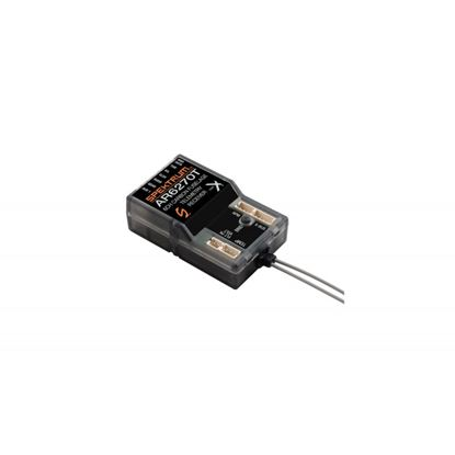 Picture of Spektrum AR6270T DSMX 6CH Carbon Fuse Telemetry Receiver