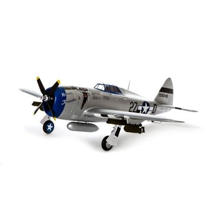 Picture of E-Flite EFL8450 P-47 Razorback 1.2M BNF Basic W/SAFE