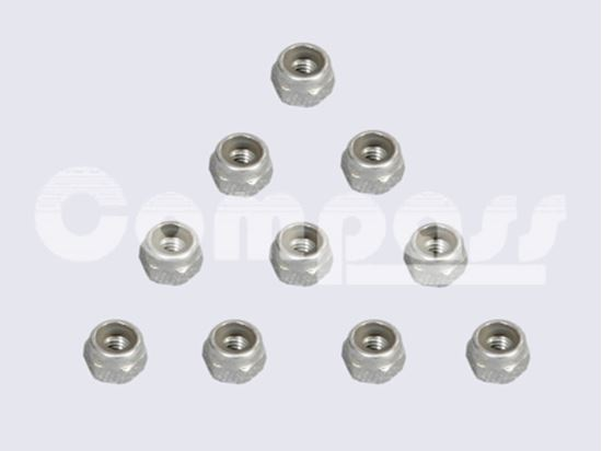 Picture of KUZA KAG02601 Stainless Steel Nylon/Nyloc Nut M2