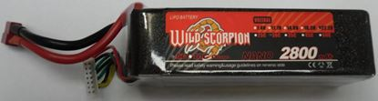 Picture of Wild Scorpion 6S 22.2v 2800mAh 30C XT-60 Plug