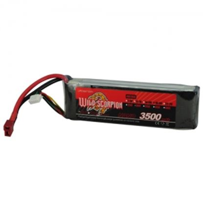 Picture of Wild Scorpion 4s 14.8v 3500mAh 30C XT-60 Plug