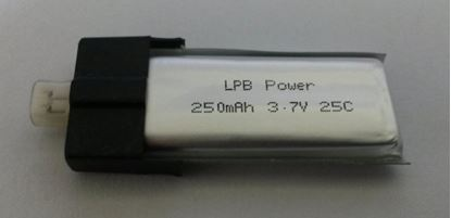Picture of LPB Power 1S 3.7v 250mAh 25C for E-Flite mCP X