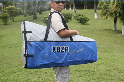 Picture of KUZA KAG0095B Wing Bag 85-120 CC BLUE