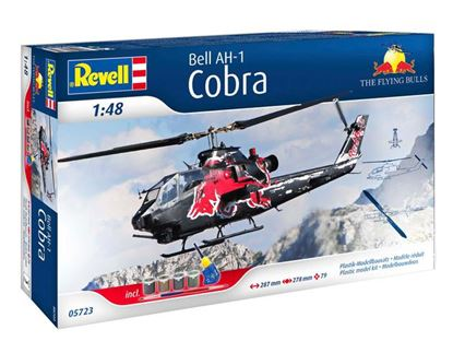 Picture of REVELL RV05723 AH-1F Cobra Flying Bulls gift set