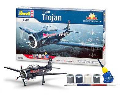Picture of REVELL RV05726 T-28 Trojan Flying Bulls gift set