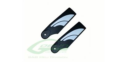 Picture of SAB H0554-S TECHNOPOLYMER TAIL BLADES 70mm