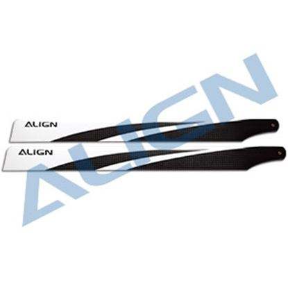 Picture of HD380B 380 Carbon Fiber Blades - Blue
