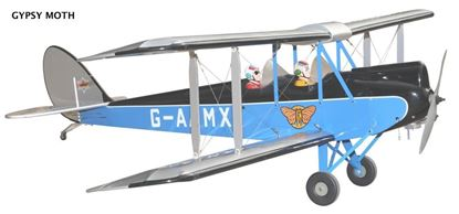Picture of Seagull SEA169 Gypsy Moth(Bi-Plane) Size 91-120 (1830mm)