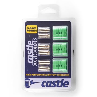 Picture of Castle 011-0069-00 Polarized Connectors - 6.5mm Female Multi-Pac