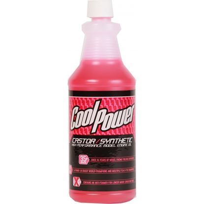 Picture of CoolPower High Performamce Castor/Synthetic Lube. 1 Quart