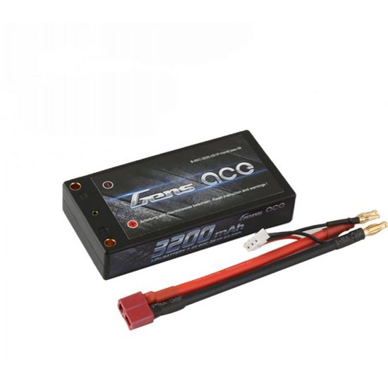 Picture of Gens Ace Black Light Weight Shorty 3200mAh, 7.4v 60C