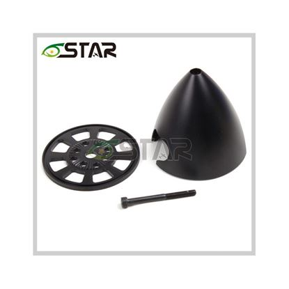 Picture of 6star DSP325-D Aluminum Alloy Spinner 3.25 inch/83mm BLACK