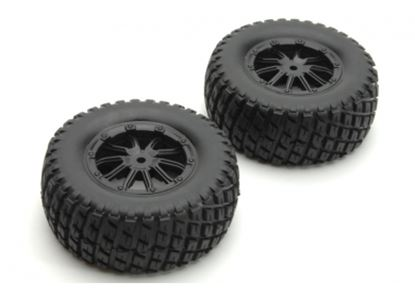 Picture of DHK 8135-001 Tire complete (black rims) (2 pcs)