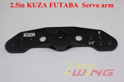 Picture of KUZA KAG0D71F Futaba/Savox Dual HD Servo Horn (64mm/2.5in)