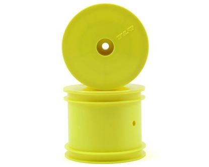 Picture of TLR TLR7002 Front/Rear Wheel, Yellow (2): 22T