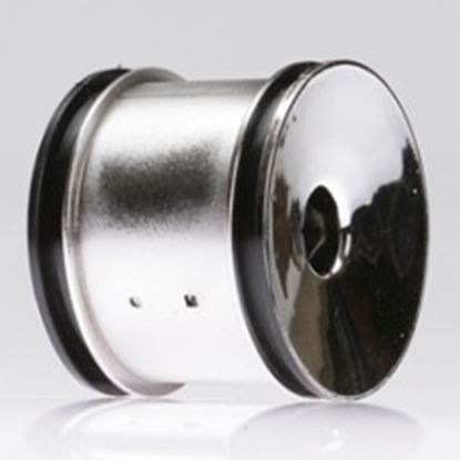 Picture of LOSI LOSB7050 Rear Truck Wheels, Chrome (Pr): XXX-T