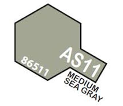 Picture of Tamiya AS-11 Medium Sea Gray (RAF) - 100ml Spray Can