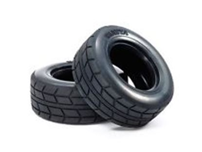 Picture of Tamiya 51589 Racing Truck Tyres 2Pc