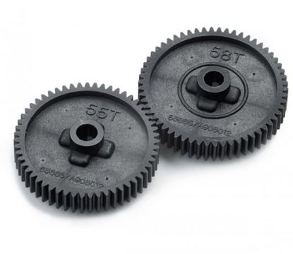 Picture of Tamiya 53665 TT-01 Spur Gear Set (55T/58T)