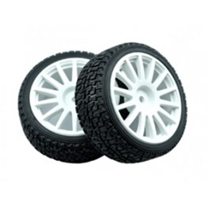 Picture of LC Racing L6004 Rally tire set
