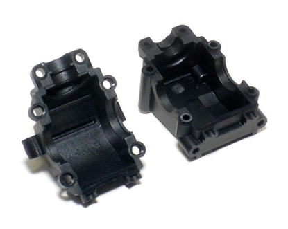 Picture of LC Racing L6010 Diff Gear Box Set 2 pcs Black For EMB-1 EMB-SC E