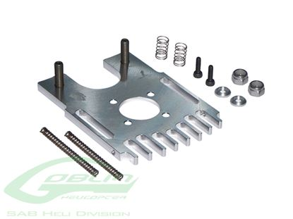 Picture of SAB H0211-S - Aluminum Motor Mount - Goblin 500