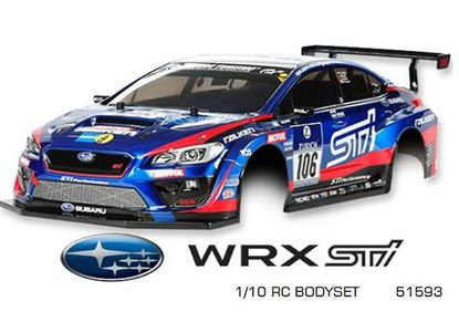 Picture of Tamiya 51593 RC Body Set Subaru WRX STI - NBR Challenge