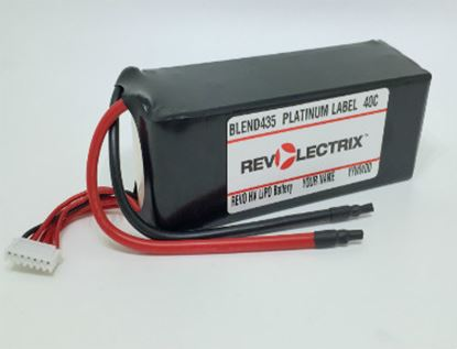 Picture of Revolectrix 3700mAh 4S LiPO - Blend435 Platinum Label 40C GoPACK
