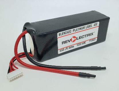Picture of Revolectrix 4400mAh 5S LiPO - 40C Platinum Label - GoPACKS