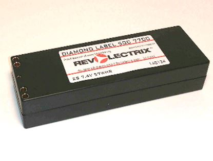 Picture of Revolectrix TURBOCHARGE 7700mAh 2S 70C LiPO HARDCASE
