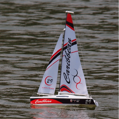 Picture of Joysway J8802 Caribbean 2.4GHz RTR1/46 Scale Micro Sailing Yacht